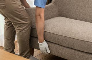 家具(ソファ)の写真|家具の回収処分ならスマートライフ 【東京都足立区】|家具回収/家具処分/家具解体/家具撤去