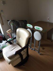 椅子、ソファ、車いす、掃除機