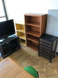 本棚、収納棚、テレビ台、テレビ