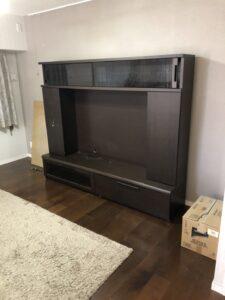 テレビ台 回収